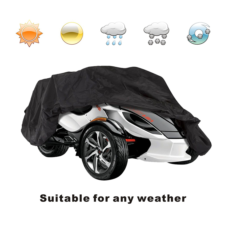 100% polyester waterproof caravan cover weather protection car cover