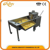 Wholesale price 8 Oz CE automatic tabletop old fashioned electric commercial kettle caramel popcorn making machine price