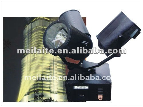 M-2007 Three Heads Stainless Search Light With Large Power ,xenon lamp and competitive price