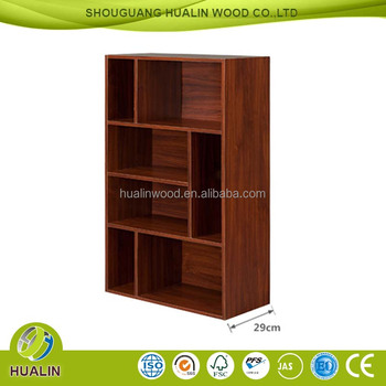 Hot Melamine Particle Board Cover Commodity Shelf Wall Mounted Design Free Combination