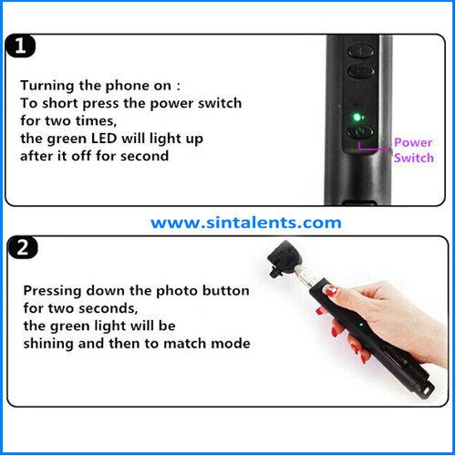 camera tripod monopod wired selfie stick