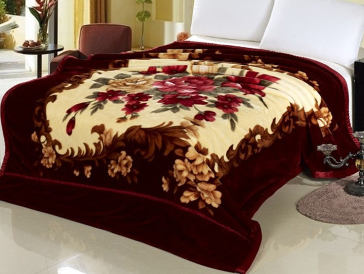 Beautiful And Good Quality Korean Style Mink Blankets
