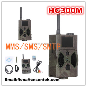Suntek Gsm Gprs Mms Sms Smtp Outdoor Game Camera For Hunting With Night  Vision Hc300m - Buy Game Camera With Night Vision Hc300m,Suntek Outdoor  Game
