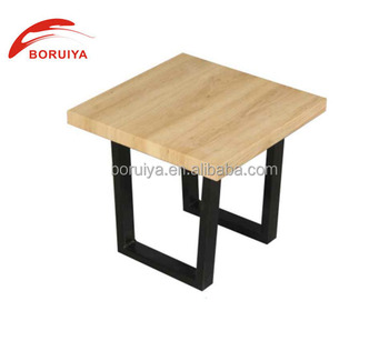 Modern Wooden Side Table Square