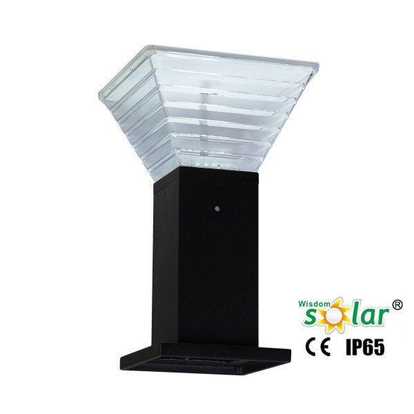 Jr-b008 Solar Powered Path Lights Stainless Steel Outdoor Lawn ...