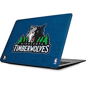 NBA Minn. Timberwolves MacBook Air 13.3 (2010/2013) Skin - Minnesota Timberwolves Distressed Vinyl Decal Skin For Your MacBook Air 13.3 (2010/2013)