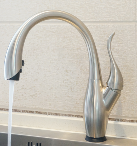 Deck mounted installation type touch sensor kitchen faucet