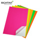 Stationery material a3 a4 size heat resistant reusable removable self adhesive vinyl sticker paper