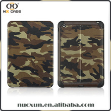 Camouflage design case for ipad 4 for apple ,for ipad mini 3 case