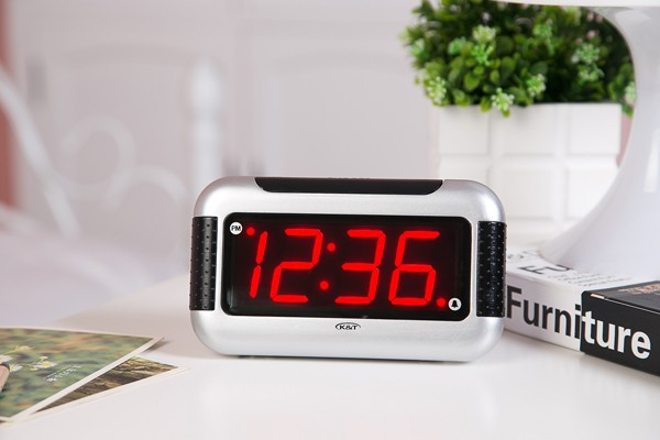 LED clock for home decoration