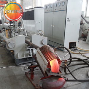 mandrel machine; induction heating elbow making machine