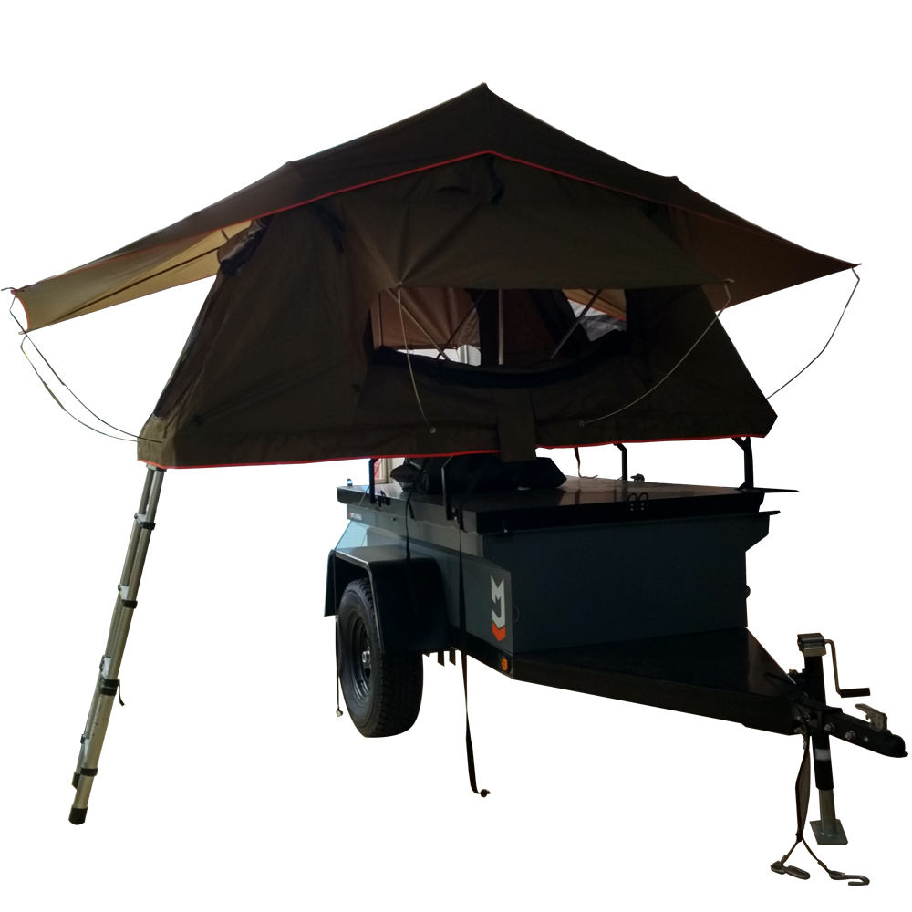 Car Roof Top Tent Optional With Car Side Awning / 2-3 Person