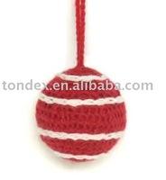 Christmas decoration(Yarn thread ball)