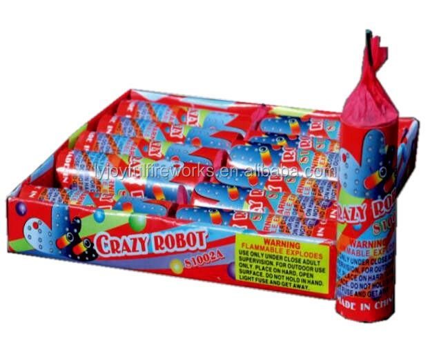 customized factory crazy robots fireworks bomb
