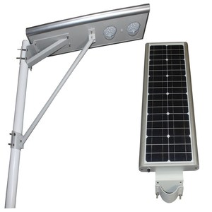 remote control new product 40w led street solar light parts outdoor solar lamps