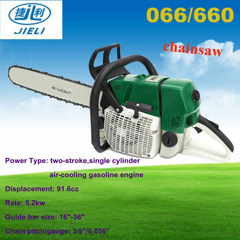 Chinese Mini Chain Saw 066/660 For Small Branch Cutting Machine 92cc  Gasoline Chainsaw Chain Sharpen - Buy 066/660 Mini Chain Saw,Ms 660  Chainsaw,92cc