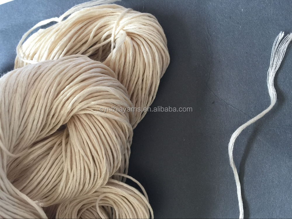 Silk Yarn Natural Undyed Silk 120 Silk Yarn