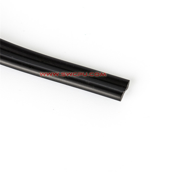 Extruded transparent epdm rubber sealings