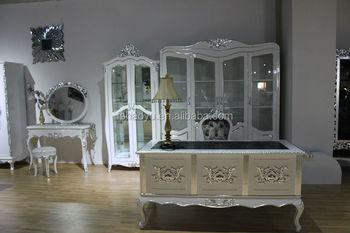 Ufficio Casa Legno : Bianco di legno casa mobili per ufficio scrivania in legno