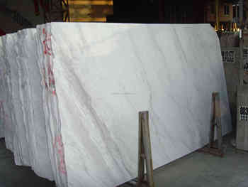 Volakas marmo bianco di carrara pietra importati per pavimenti in