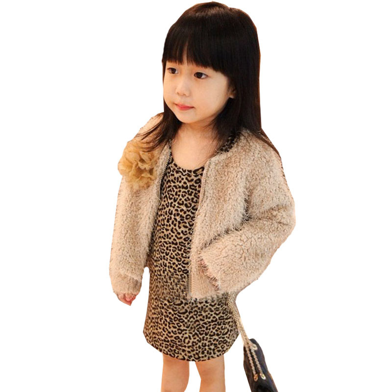 Get Quotations · Baby Girl Clothes Fashion Sexy Leopard Autumn Long Sleeve  Kids Party Dress 2015 Free Shippping AP0338