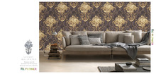 Loren 3d wallpaper for home and bedroom decoration from factory (cl-120101)
