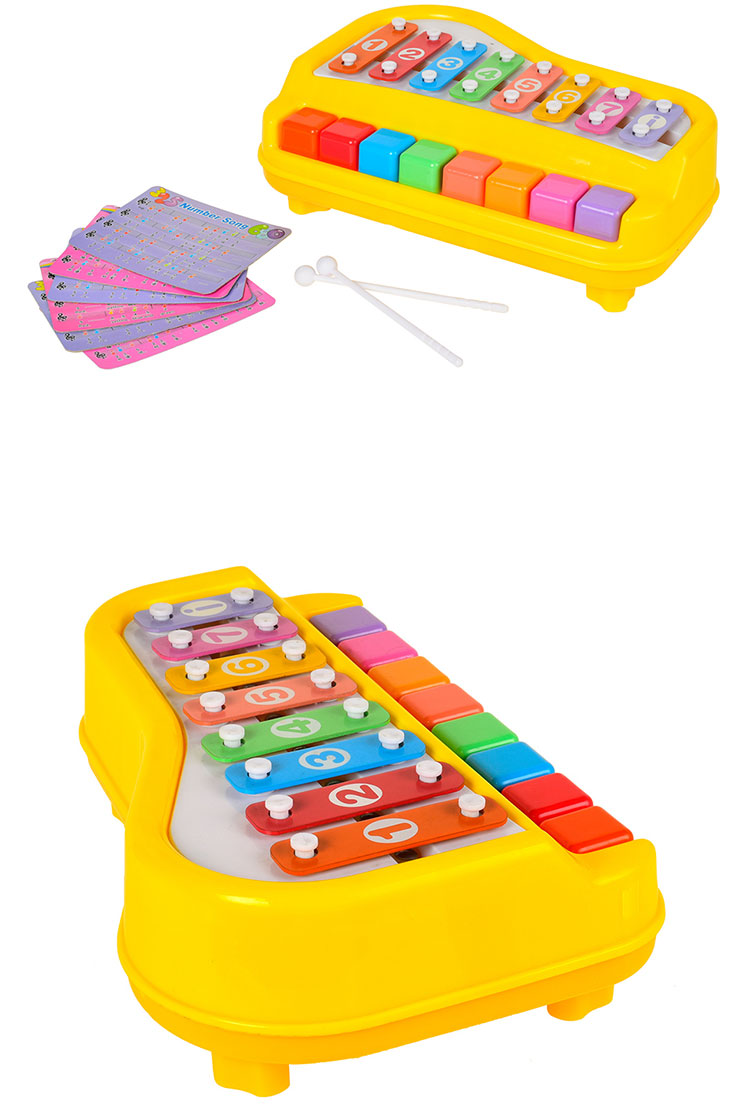 Hot selling Eco friendly material mini xylophone toy for kids