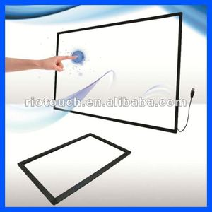 70'' Large size touch screen frame make the LCD/LED/TV become touch screen monitor
