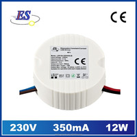 12W 350mA AC-DC Constant Current LED Driver with Triac Dimmer ,350mA dimmable led driver