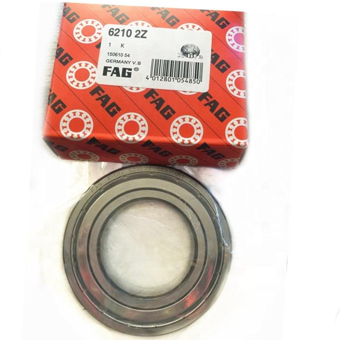 6210RS Bearing 50x90x20 mm ABEC-3 1PC Sealed 6210 RS RZ Ball Bearings 6210-2RS