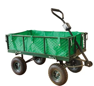 Folding Garden Tool trolley Cart wagon cart