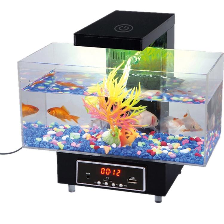 kangwei kwd limpiador de tanque de peces de acuario de escritorio