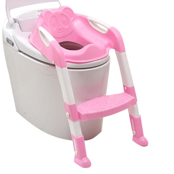 Plastic baby children potty trainer, baby bidet toilet