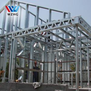 Building use Pre- assemble light gauge steel frame and steel roof trusses  for sale