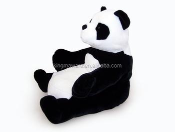 Plush Panda Shaped Kids Sofa Chair Plush Animal Shaped Children Sofa Plush  Panda Sofa Chair Plush