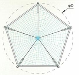 Ptfe Tensile Membrane Structure Buy Ptfe Tensile