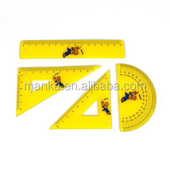 Export Customised Triangular plate ruler set
