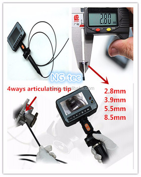 2.8mm Portable Blade Inspection Products 360 Degree ...