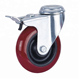 Long way best price 2 3 4 5 inch 45-150 kg material PP core PU hammer caster