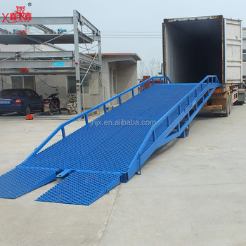 Mobile Container Loading Dock Ramp Forklift Loading Ramps
