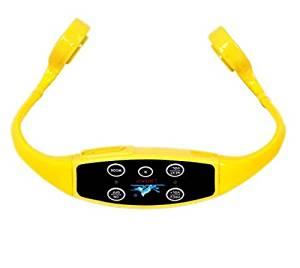 MP3+FM raido Open-ear bone conduction headphone , water resistant bone conduction headphone, hearing-aid +music FM raido headphone, swimming mp3 headphone+ water proof IPX8 bone conduction headphone