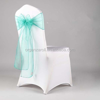 china supplier cheap chair decoration tie organza sash buy event
