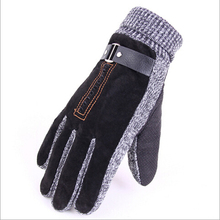 2014 new arrive Gloves Winter Korea style Men's Pig leather Soft Gloves Men Gloves -Wholesale Free Shipping