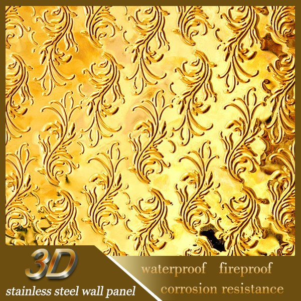 Decorative Stainless Steel Sheet Indian Metal Wall Art Decor - Buy ...