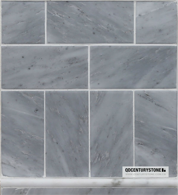 Sunny Gray Marble Wall And Flooring