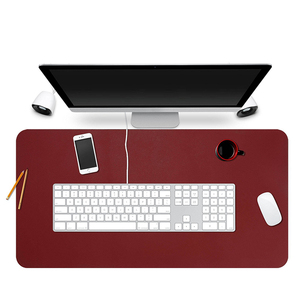 High-end leather computerized desk mat mouse pad gaming,sublimation mouse pad,large mouse pad