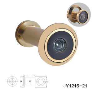 High quality Brass anti-rotation hd Lens door viewer camera peephole