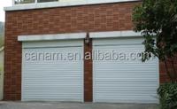 Cheap aluminium rolling up shutter garage door