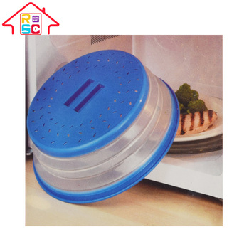 Plastic Collapsible Microwave Food Cover