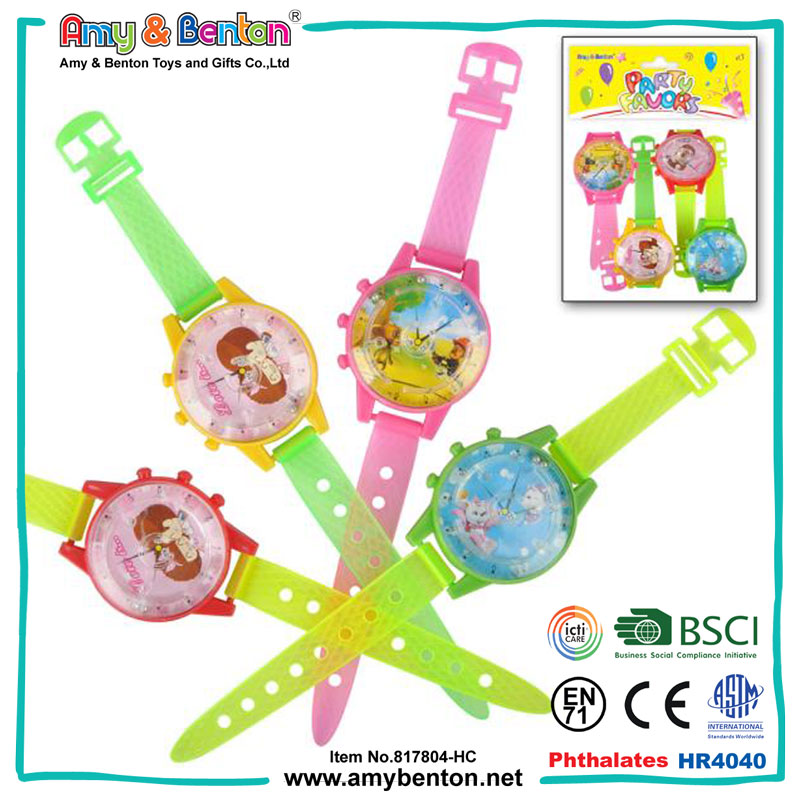Fashion Plastic Maze Watch Toys Promotional Gifts Watches Toys for kids